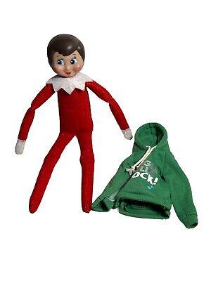 Elf On The Shelf Knee Hugger Christmas CCA & B 2005 Blue eyes Brown Hair Hoodie
