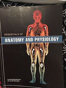Anatomy and physiology text book.  Windsor Region Ontario image 1