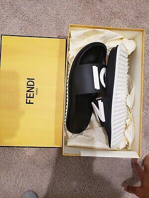 Fendi Mens Slides Size 9