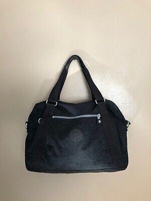 Kipling Large Black Satchel Tote Handbag
