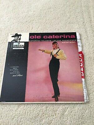 Vintage ole' caterina - CATERINA VALENTE SILVIO FRANCESCO DL 8436 DECCA - LP