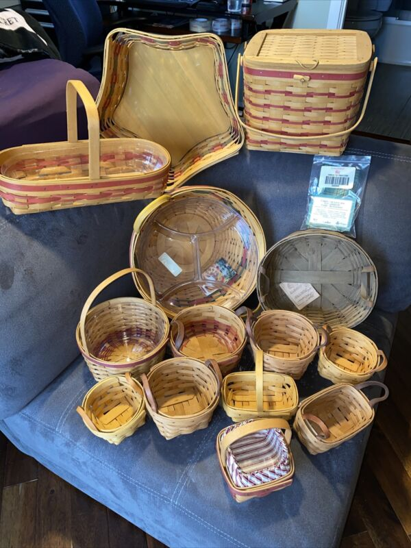 Large Lot of Longaberger Baskets