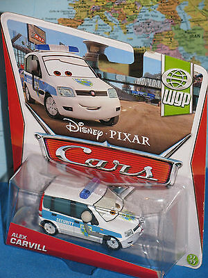 DISNEY PIXAR CARS ALEX CARVILL #17/17 WGP ***BRAND NEW & RARE***
