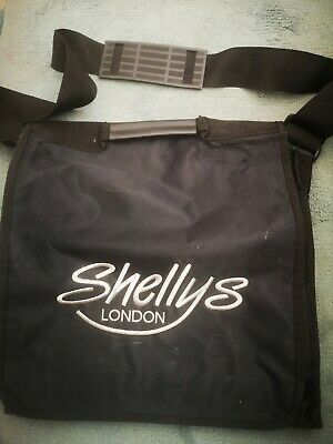 Shelly's London  Vintage Bag 90's Black and Silver