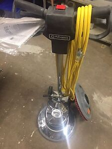 "Advance 17""  Pacesetter HD 1.5 hp scrubber"