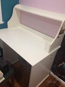 White Writing/Study Desk - In Great Condition Roselands Canterbury Area Preview