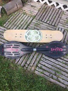 Skate et wave board