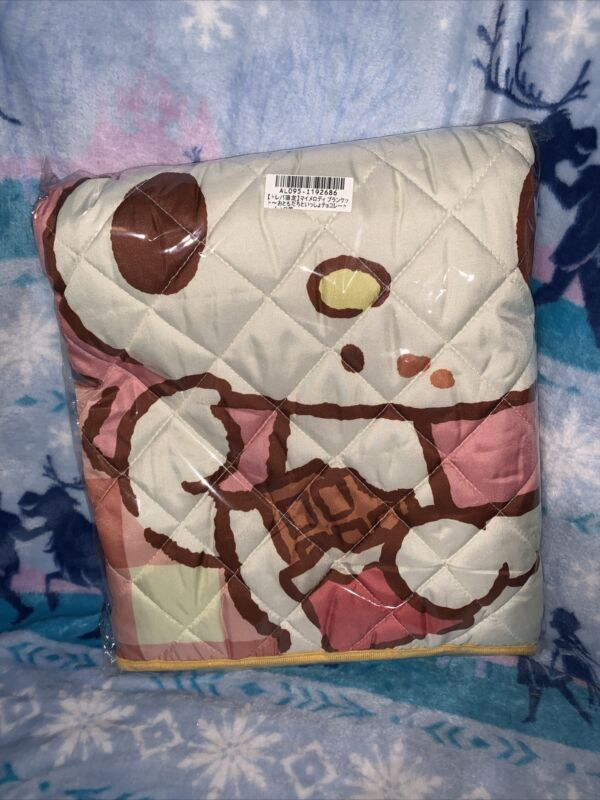 Sanrio My Melody Chocolate Quilt Blanket Toreba Exclusive Squirrel Japan 120cm