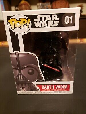 Star Wars Darth Vader Number 01 Vinyl Bobble Head Funko Pop