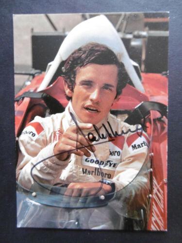 Jacky Ickx Autogramm signed 10x15 cm Postkarte