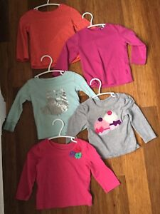12-18 month long sleeve tops