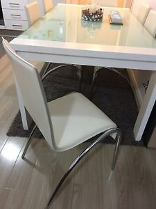 Dining table 7 pieces Hassall Grove Blacktown Area Preview