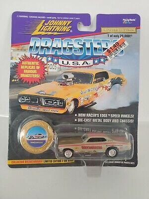 Johnny Lightning 1970 Dodge Challenger Ramcharger Dragster Car