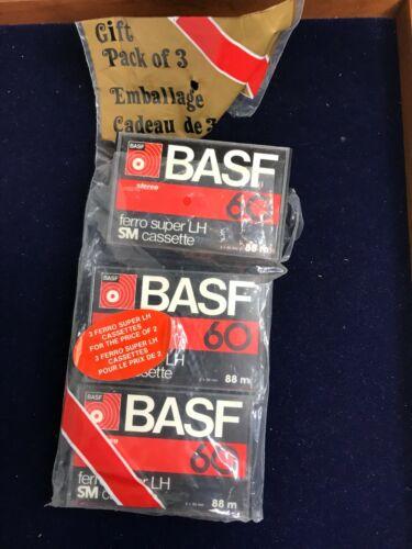 Vintage BASF Ferro Super LH SM 60 Cassette Tape