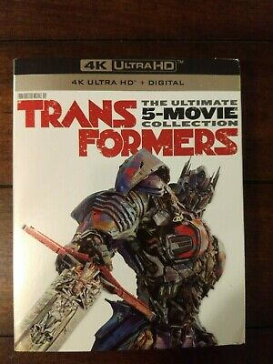 Transformers: Ultimate Five 5 Collection (4K Disc, Blu-ray) NEW, SEALED