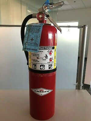 Amerex B456 10lb Multipurpose Dry Chemical Fire Extinguisher