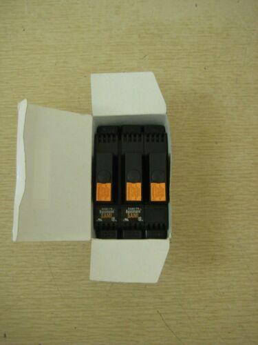 New Cooper Bussmann SAMI-7N 600V Midget CC Non-Indicating Fuse Cover Box of 3
