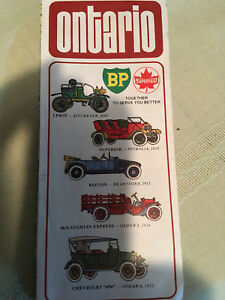BP/Supertest-Ontario-Esso Vintage Maps