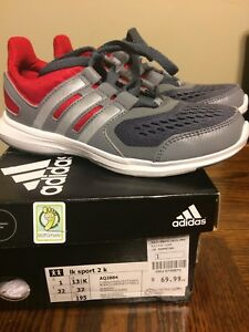 Brand new size 1 adidas boys sneakers