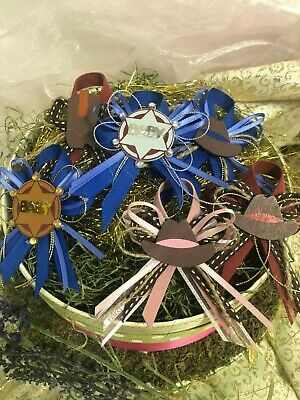 Baby Shower Pin Favors (Charmed Wild Wild West CowBoy Corsage Pin Baby Shower Favors for Boy/Girl; 12)