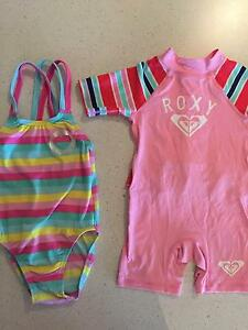 Roxy and Speedo size 1 girls bathers Hallett Cove Marion Area Preview