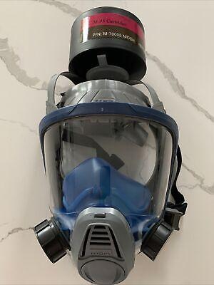 Gas Mask Msa Advantage 3000 - Model 3200 - Size Large- New Open Box