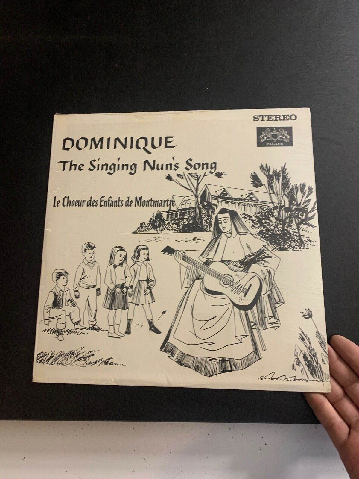 LP RECORD - DOMINIQUE - THE SINGING NUN S SONG NEW IN PLASTIC  - $9.99