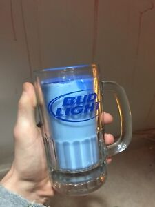 Peppermint Bud Light candle