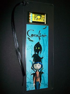 CORALINE Movie Film Cell Bookmark Memorabilia compliments dvd poster vhs ()