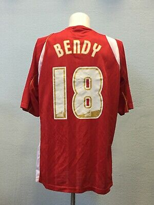 Bendy 18. Cheltenham Town Home football shirt 2008 - 2010. Size: XL. Errea image