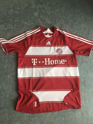 Adidas Trikot FC Bayern München Nr. 7 Ribery 2007/2008 Home Größe M