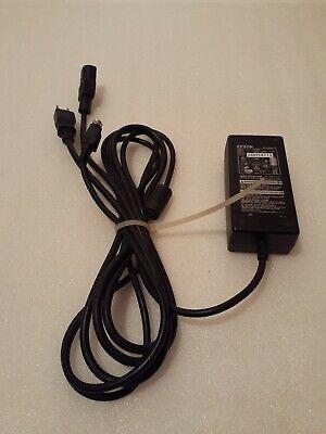 Genuine Epson Da-36e24 Ac Adapter 24v 1.5a 3-pin Pos Printer Power Supply