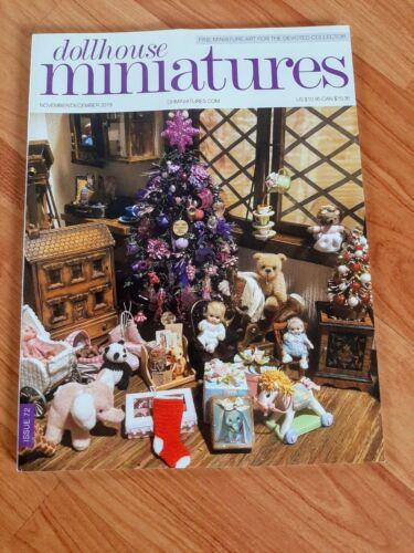 Dollhouse Miniatures Magazine Issue 72 Nov/Dec 2019 **Free Shipping**