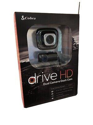 Cobra drive HD 1080P Dual Camera Dash Camera - Never used!  CDR 895 D