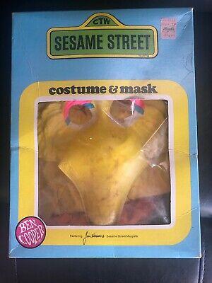 Baby Chick Halloween Costume (Vintage 1979 Big Bird Sesame Street Halloween Costume Child Ben Cooper)