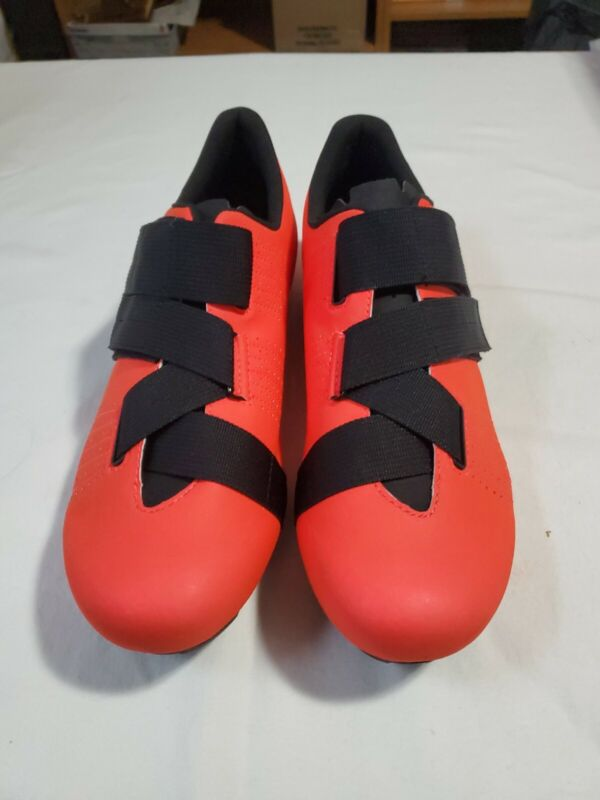 Fizik Tempo R5 Powerstrap Coral / Black - EU 46.5 Road Shoes Vright Neon T3