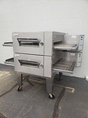 Lincoln Impinger 16011600 Double Deck Conveyor Pizza Oven Belt Width 32