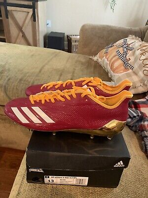 New Adidas SM Adizero 5 Star 6.0 NFL Football Cleats Size 13 - FREE SH