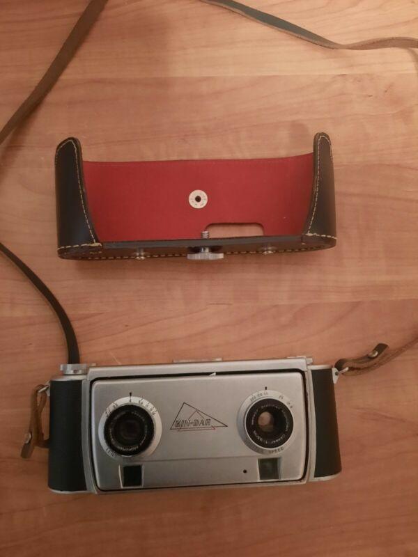 """Kin-Dar 35mm Stereo Camera by KINDER Co. """"Very Rare"""""""