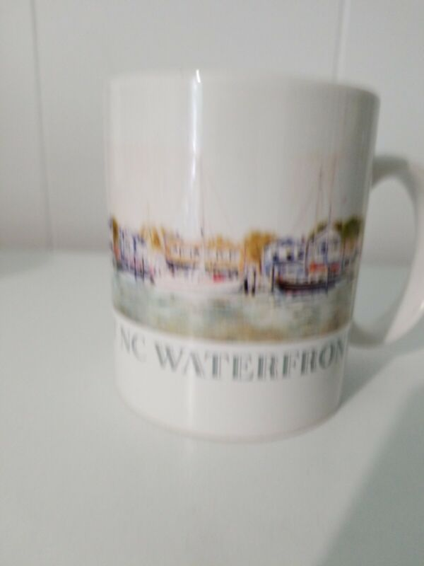 Coffee Mug/Cup Historic Beaufort NC Waterfront