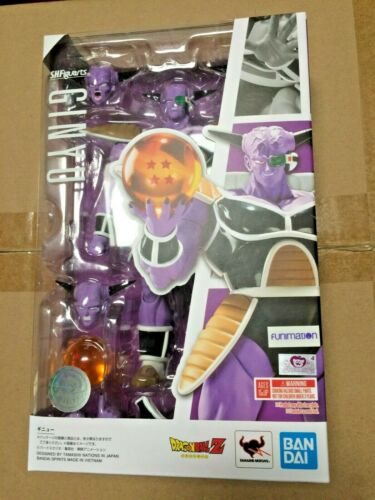 IN HAND Bandai S.H.Figuarts Dragon Ball Z Captain Ginyu Action Figure US SELLER