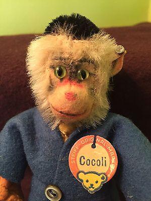 RARE VINTAGE STEIFF COCOLI MONKEY MINIATURE COCOLI BABOON DOLL