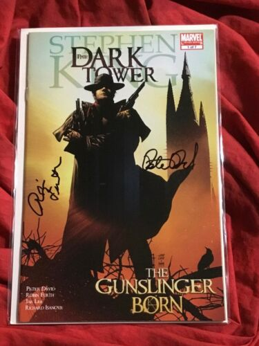 STEPHEN KINGS THE DARK TOWER #1~SIGNED BY ROBIN FURTH AND PETER DAVID~