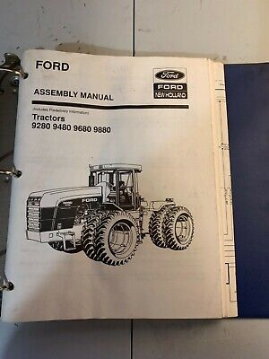 Ford New Holland Assembly Manual Tractors 9280948096809880.   12