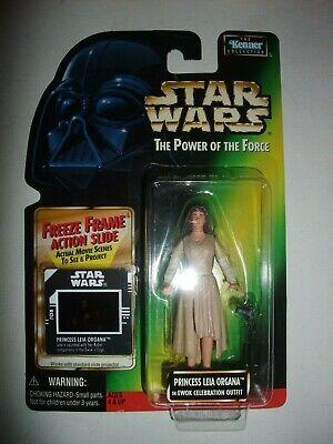 Star Wars Power of the Force POTF Princess Leia Ewok Celebration figure moc