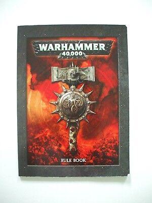 Warhammer 40,000 (40000 40k) Assault on Black Reach 5th (fifth) edition Rulebook