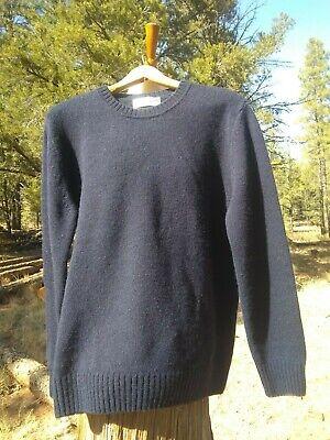 SALLE PRIVÉE Aren Mélange Shetland Wool Sweater Size 48