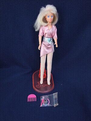 1985 Hasbro Inc China (Series Jem & the Holograms) - Original JEM with Stand
