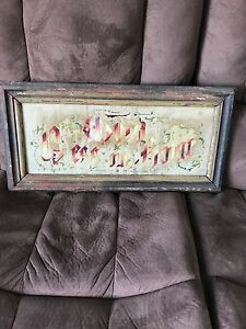 Antique picture / frame