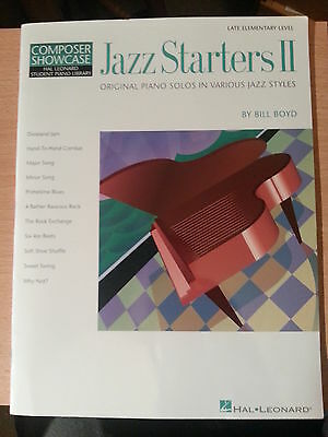 """Jazz Starters II"" by Bill Boyd - Hal Leonard Student Piano Library"